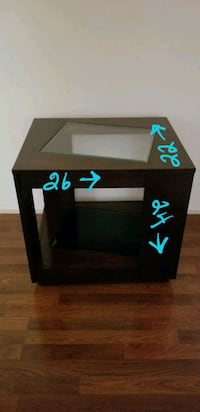 black and blue wooden TV stand Indio, 92201