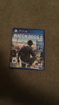 PS4 Watch Dogs 2 game case Red Deer, T4R 0J4