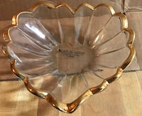 Glass Heart Shape Candy Trinket Dish New Carrollton, 20784