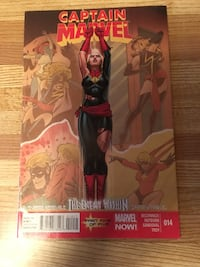 Comic book Captain Marvel