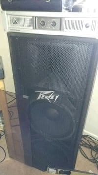 Peavey 215 (2 speakers and Behringer Amp) Chesapeake, 23321