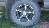 98 chev parts stereo system  rims and tires Namao, T0A 2N0