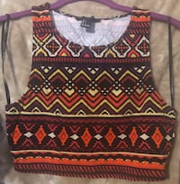 Forever 21 Crop Top size small