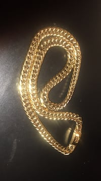 gold-colored chain necklace Montgomery, 36116