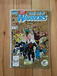 New Warriors #1 Marvel comics Montreal