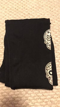 L/XL Fleece Sugar Skull Leggings Edmonton, T6C 2S1