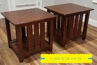 Side tables -2 or 1