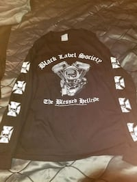 Black Label Society Long Sleeve Shirt Laval, H7P 0A7