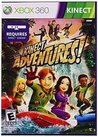 Xbox 360 Kinect Game Mississauga, L5N 8H4