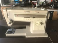 White singer electric sewing machine Toronto, M8W 4M5