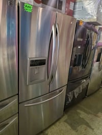 Kenmore French Doors fridge stainless Steel working perfectly  Baltimore, 21223