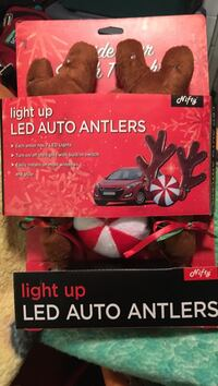 Light up led auto antlers pack new in box