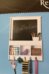 BNIB Chalkboard kit with storage shelves Toronto, M6K 2E5