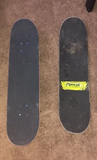 Two creature skateboards