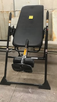 Black and gray inversion table Houston, 77063