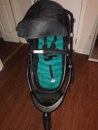 baby's black and green jogging stroller Powder Springs, 30127