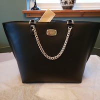 Michael Kors Leather Tote Janine Washington, 20010