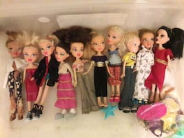Bratz dolls (10 for $25)