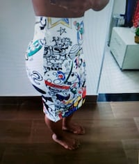 ♥️Adorable Cartoon Pencil Skirt!????