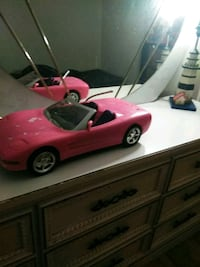pink convertible coupe plastic toy 421 mi