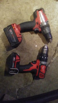 Milwaukee fuel M18 hammer drills CALGARY