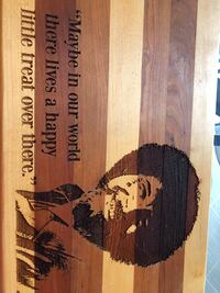 Bob Ross Quote Wood Sign/ cutting board and quote Courtice, L1E 0H5