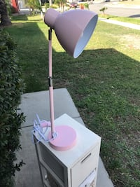 white and pink floor lamp Rialto, 92377