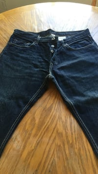 mens button fly Banana Republic Jeans Size 33-32 Lakewood, 90712