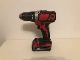 """Milwaukee Drill Driver 1/2"""" 18v cordless 2606-20 with battery $75"""