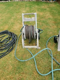 100 foot water hose with cart