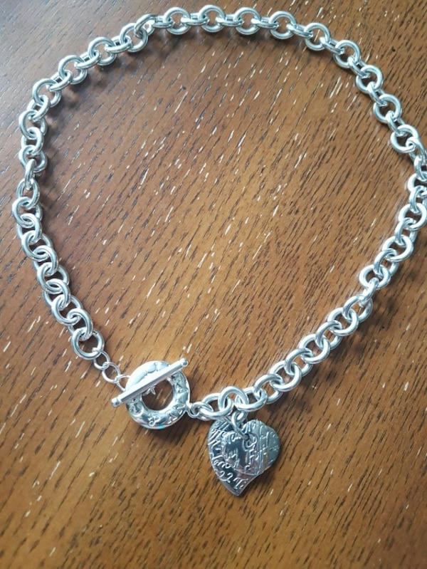 925 Silverplated Necklace.  0