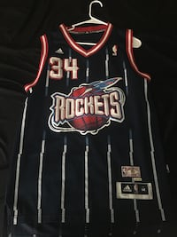 black and gray Houston Rockets 34 NBA jersey Tampa, 33620