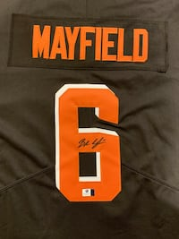Baker Mayfield autographed Nike jersey with COA Gambrills, 21054