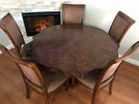 brown wooden dining table set Edmonton, T5W 2R3