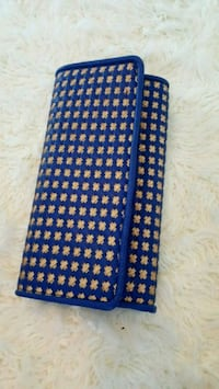 Gold and blue clutch Toronto