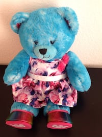 blue and red bear plush toy Fullerton, 92835