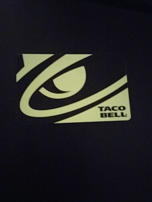 Taco Bell gift car