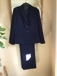 Kasper  Navy Blue Pin Stripe Suite