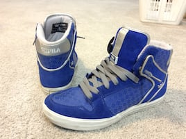Supra high tops Size 10