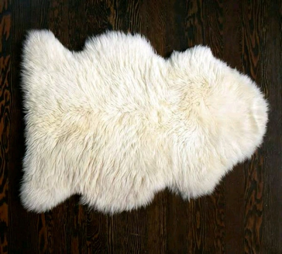 white fur-lined fur vest for sale  Colorado Springs