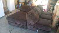 Brown 2 piece section Greeley, 80634