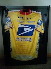 Lance Armstrong Jersey Signed w Frane Norman, 73072