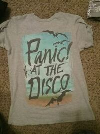 Size xs panic! At the disco shirt. Loudonville, 44842