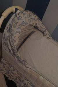 bassinet with Reversible and infant mattress