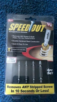 Speed out screw remover