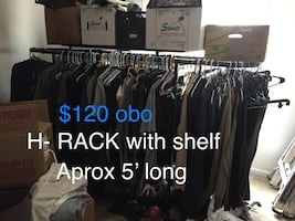 @@      H-Rack with Shelf ~ Price Dropped