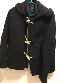 Women's Zara hooded duffle jacket in very good condition Vancouver, V6P 4J2