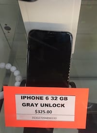 iPhone 6 32gb  Silver Spring, 20904