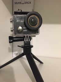 4K Action Camera with lots of accessories  787 km
