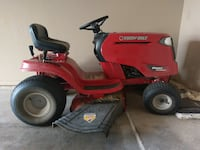 red Troy-Bilt ride on mower